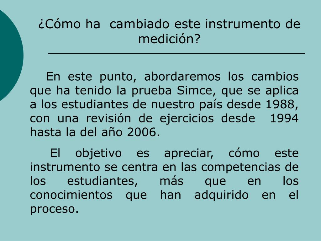 Cmo ha  cambiado este instrumento de medicin?