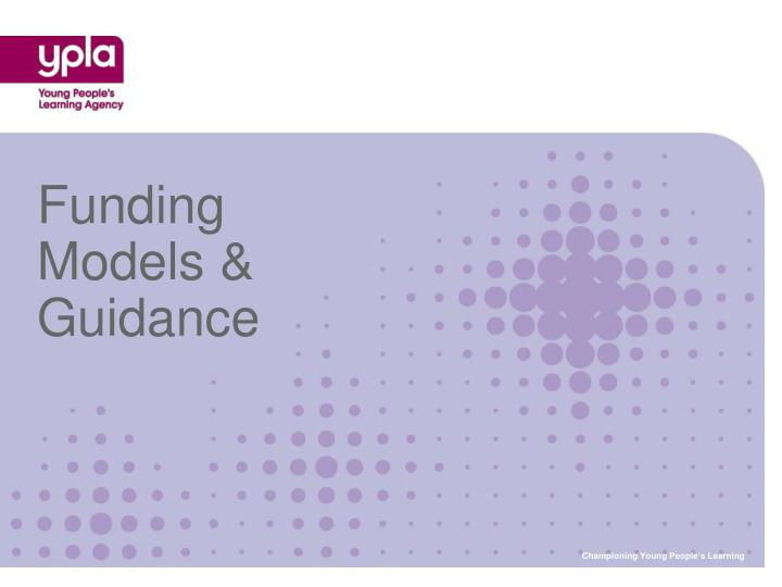 Funding models guidance l.jpg