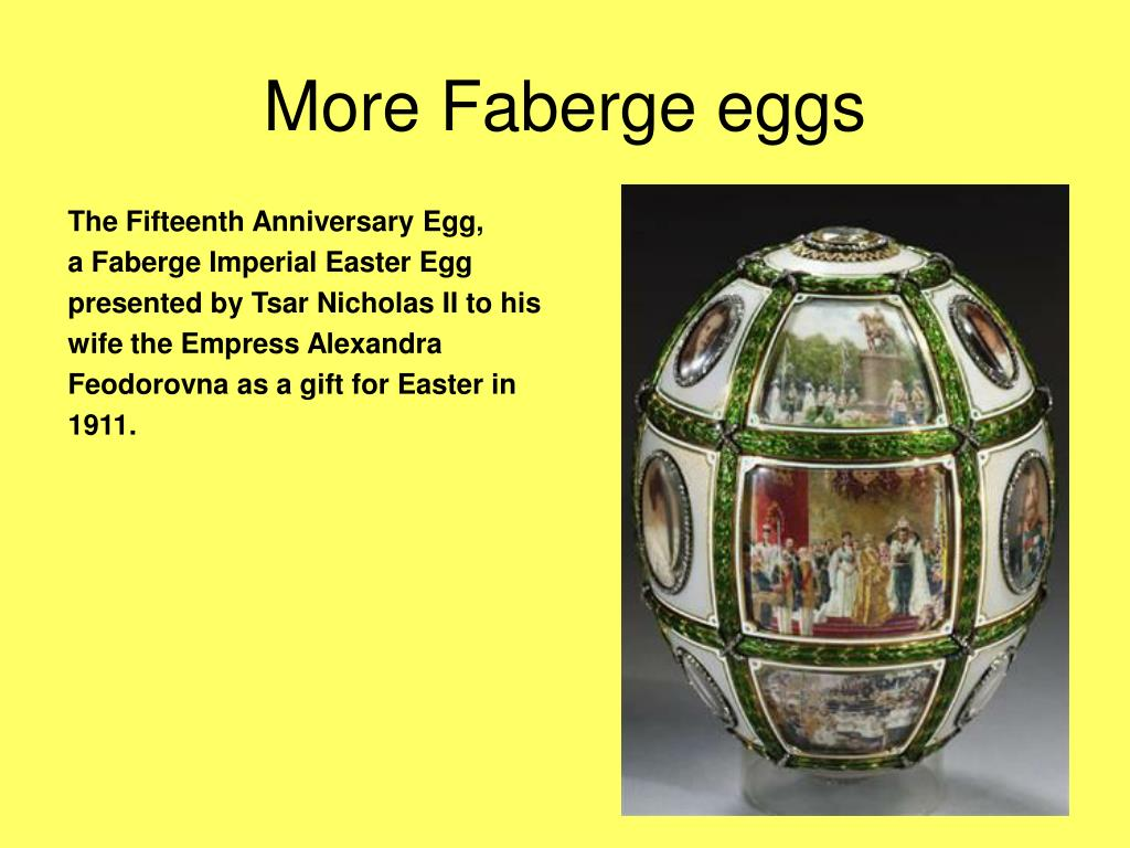 The Fifteenth Anniversary Egg,