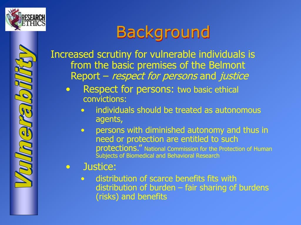 Vulnerable Persons Food Safety Act