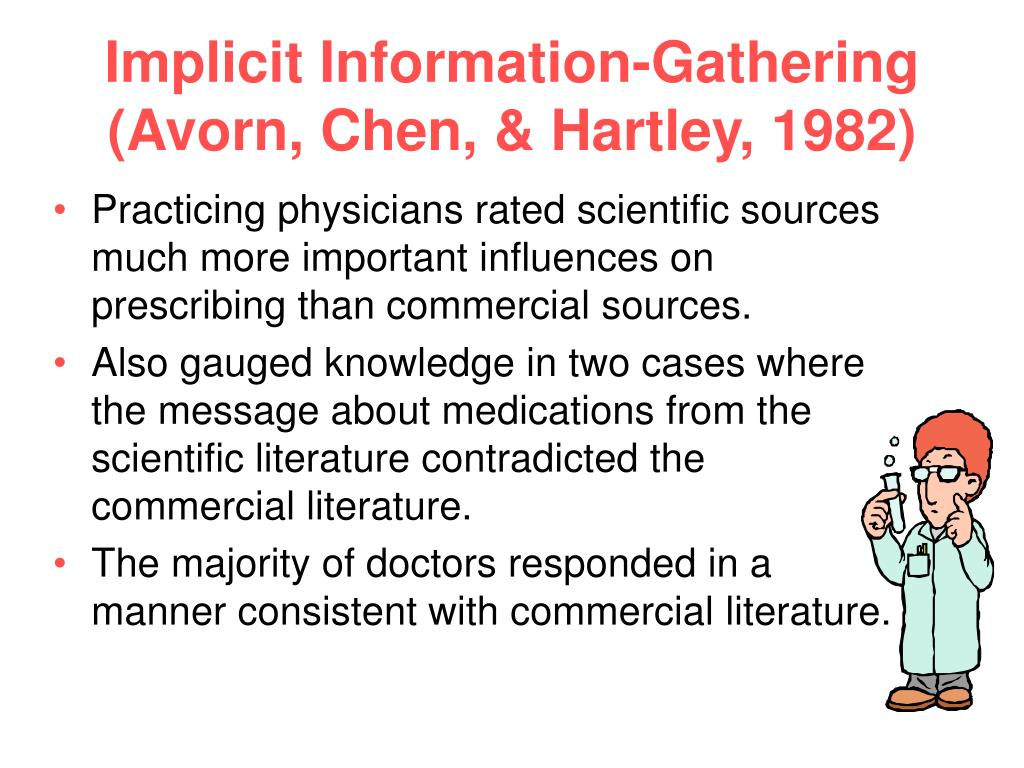 Implicit Information-Gathering