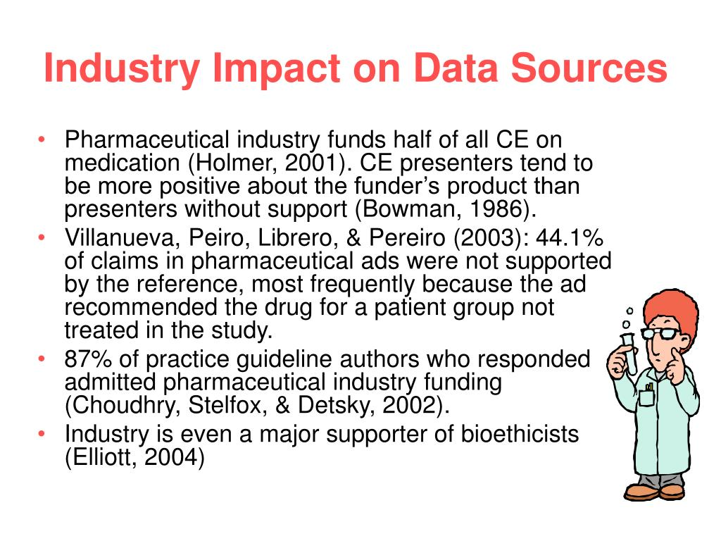 Industry Impact on Data Sources