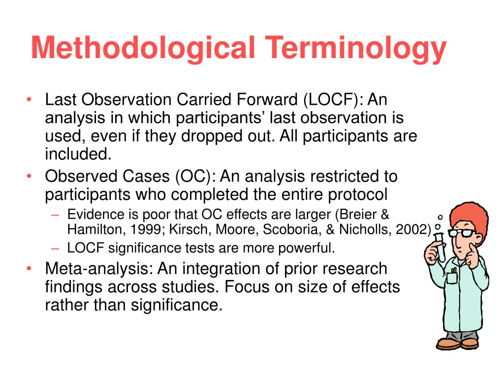 Methodological Terminology