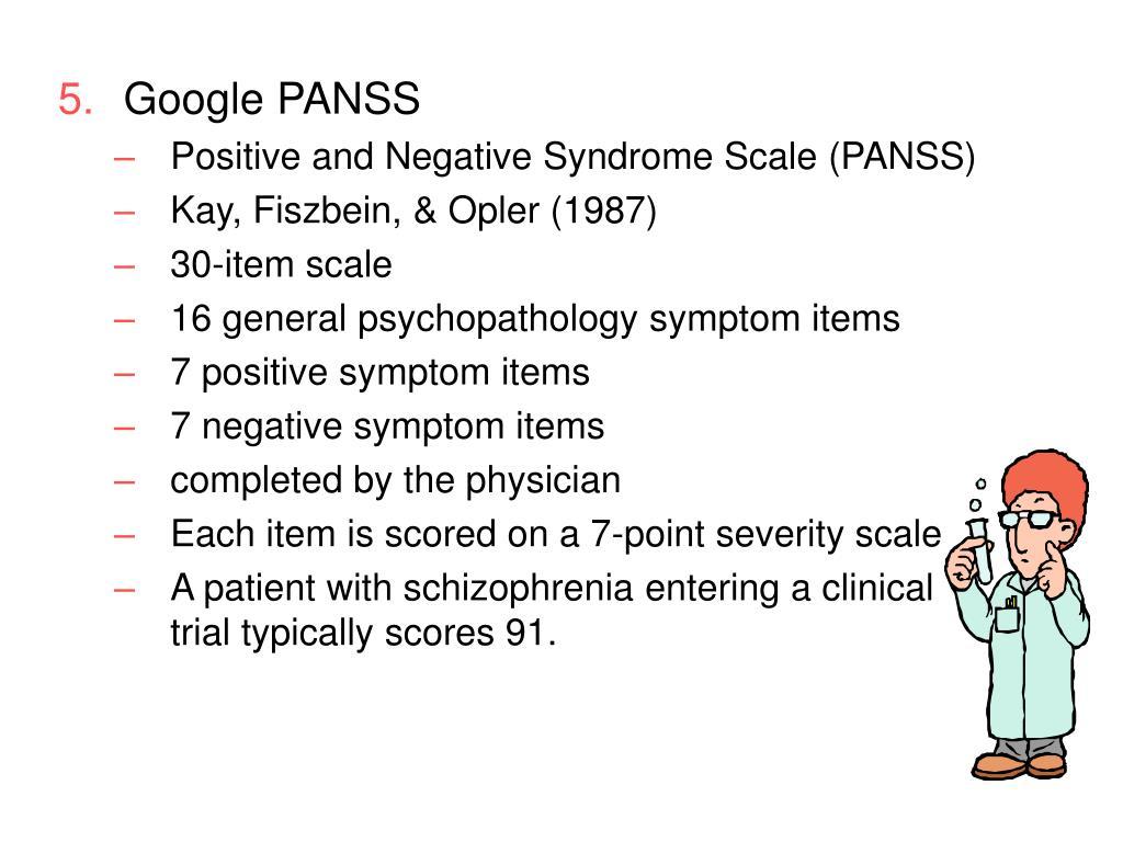 Google PANSS