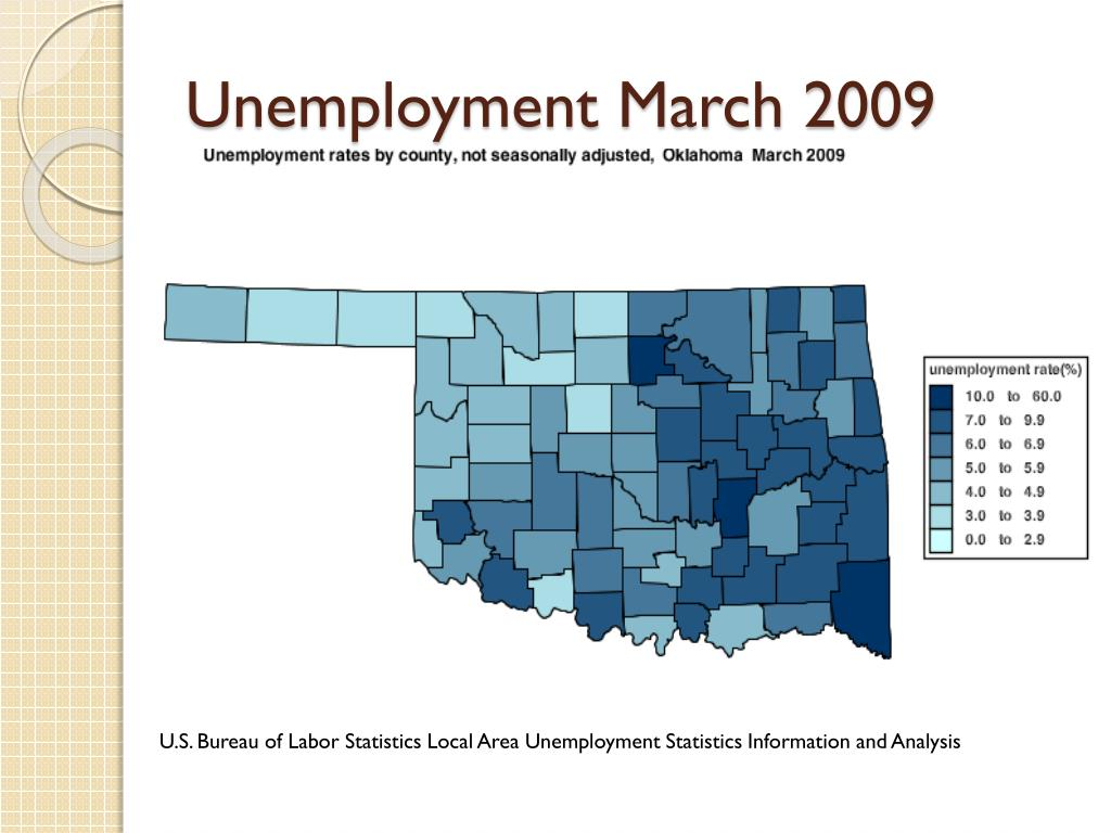 Unemployment March 2009