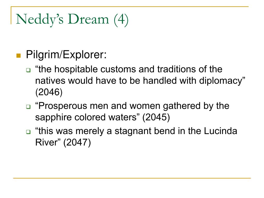 Neddy's Dream (4)