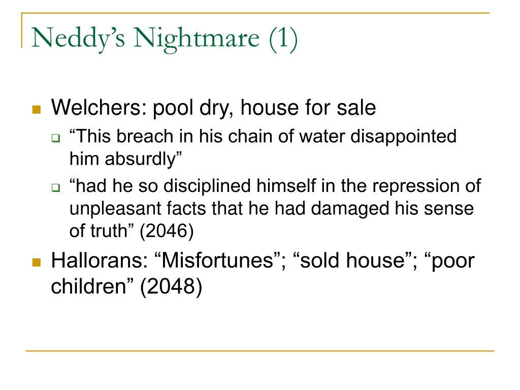 Neddy's Nightmare (1)