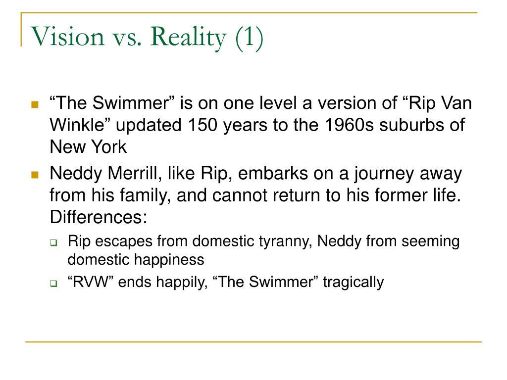 Vision vs. Reality (1)