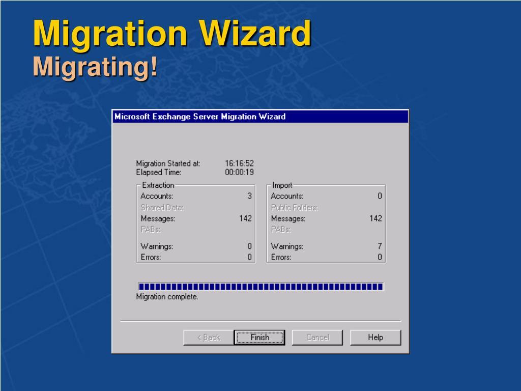 Migration Wizard