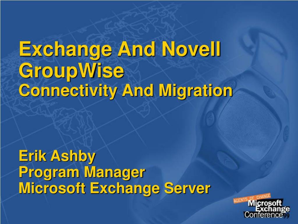 Exchange And Novell GroupWise