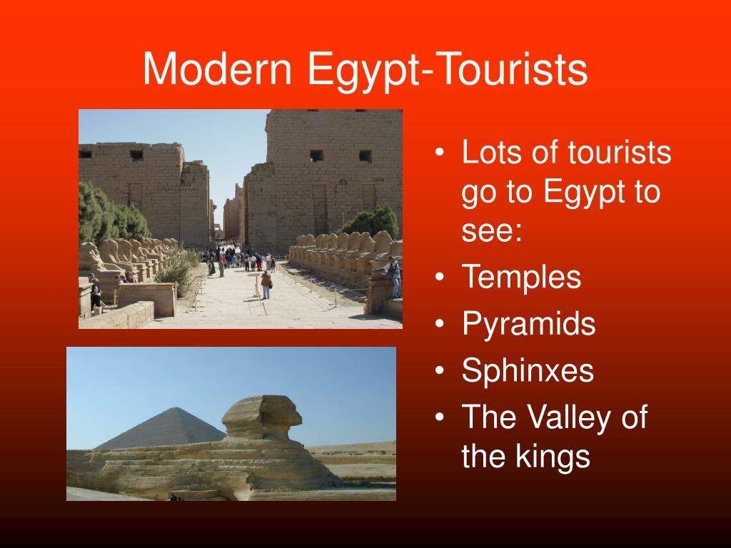 Modern Egypt-Tourists