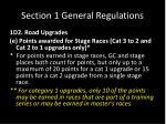 section 1 general regulations11