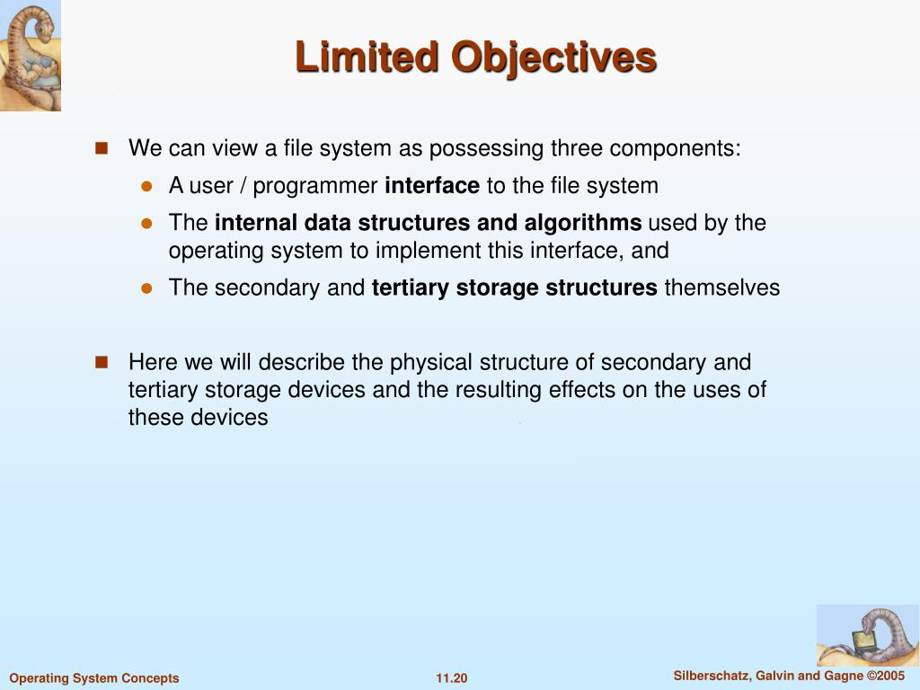 Limited Objectives