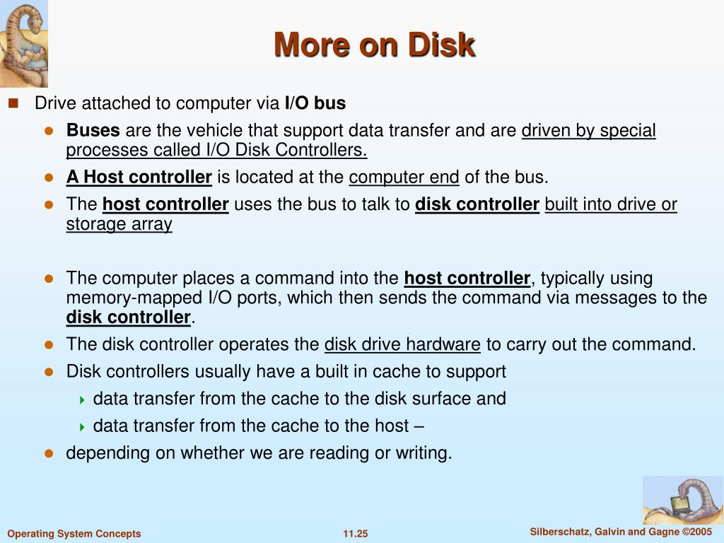 More on Disk