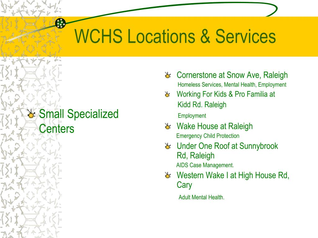 Small Specialized Centers