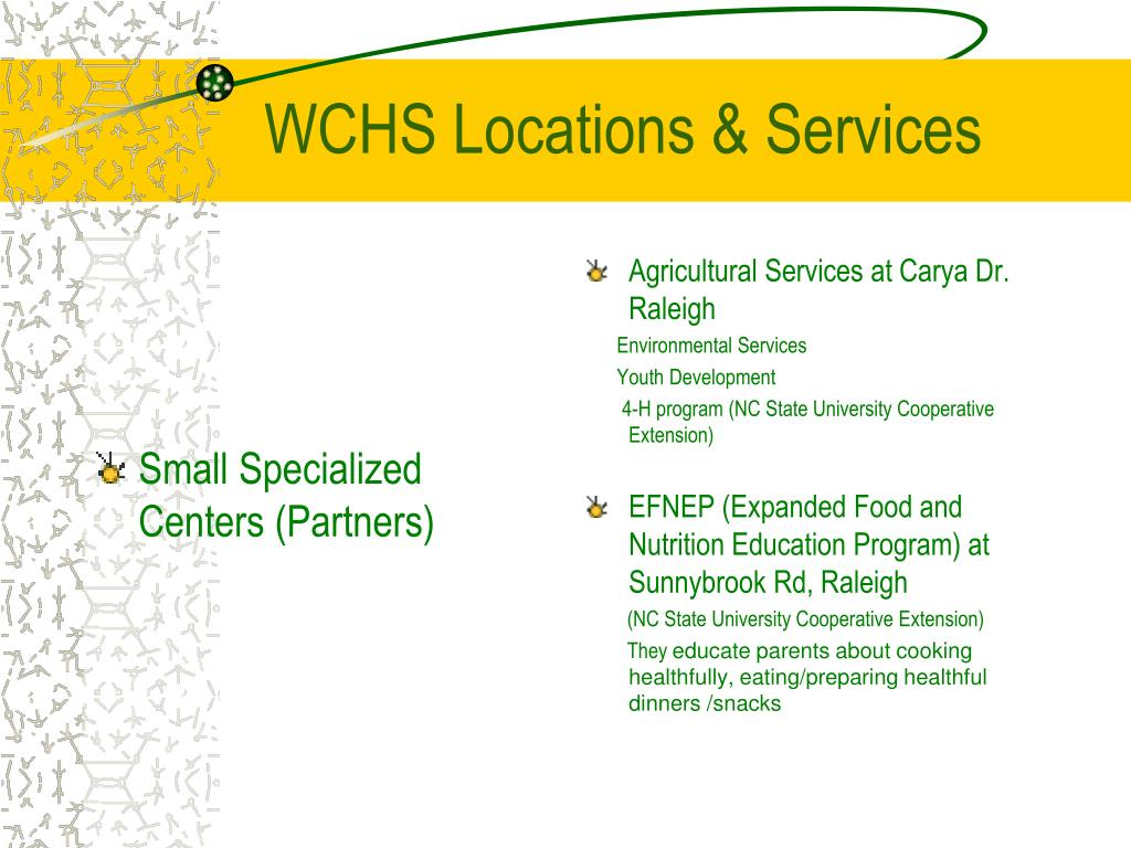 Small Specialized Centers (Partners)