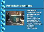 mechanical compost bins
