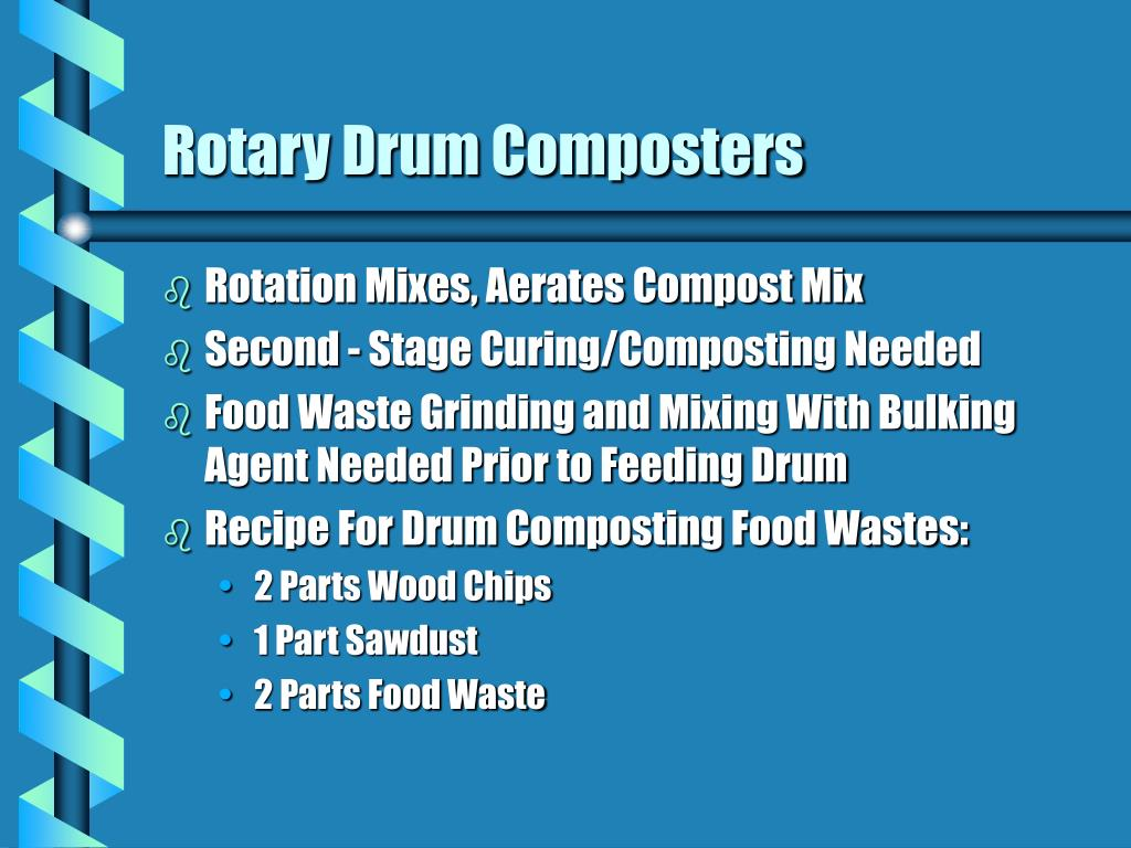 Rotary Drum Composters