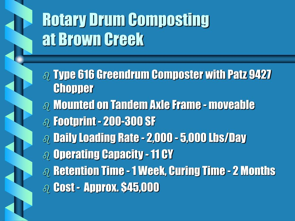 Rotary Drum Composting