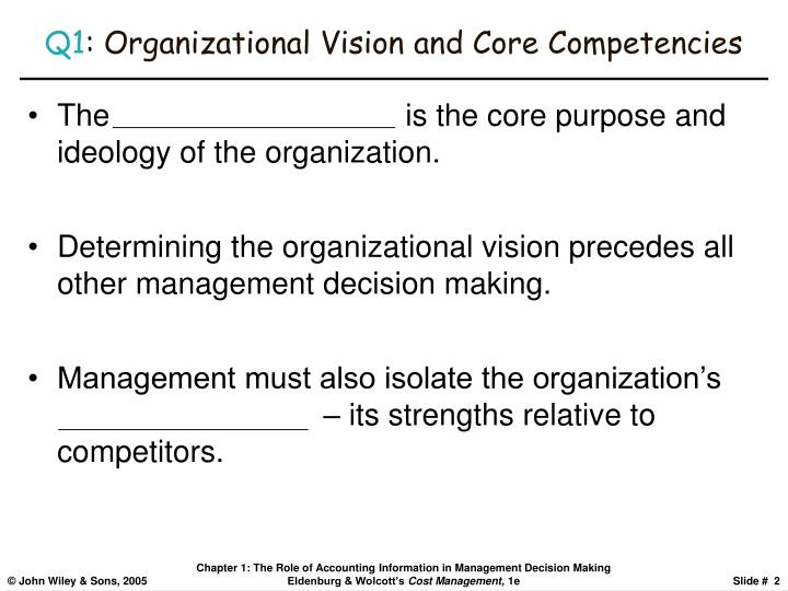 core competencies and core rigidities