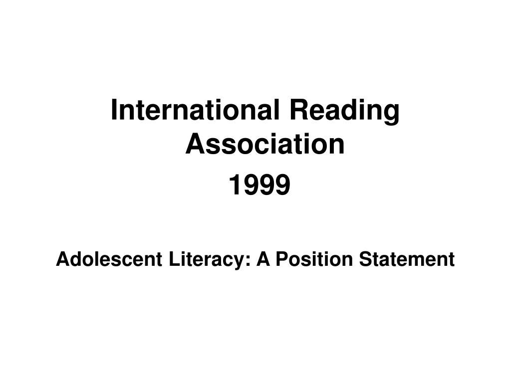 International Reading Association