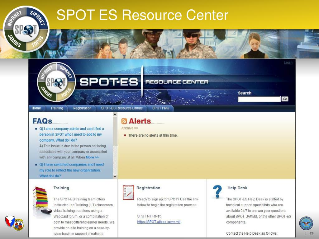 SPOT ES Resource Center