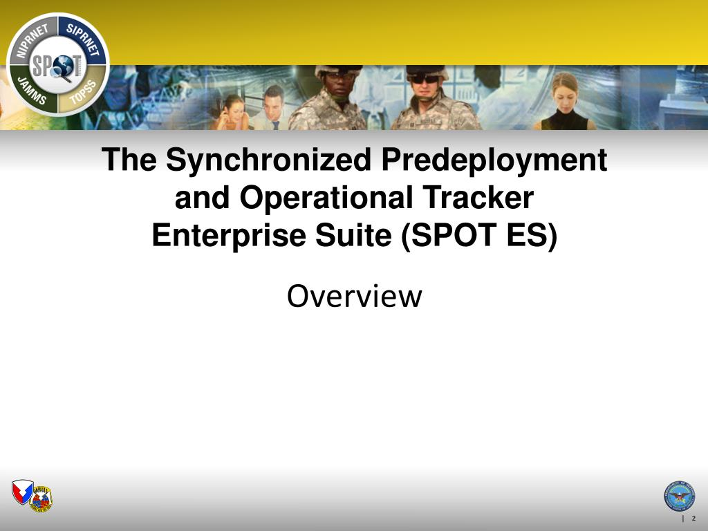 The Synchronized Predeployment and Operational Tracker