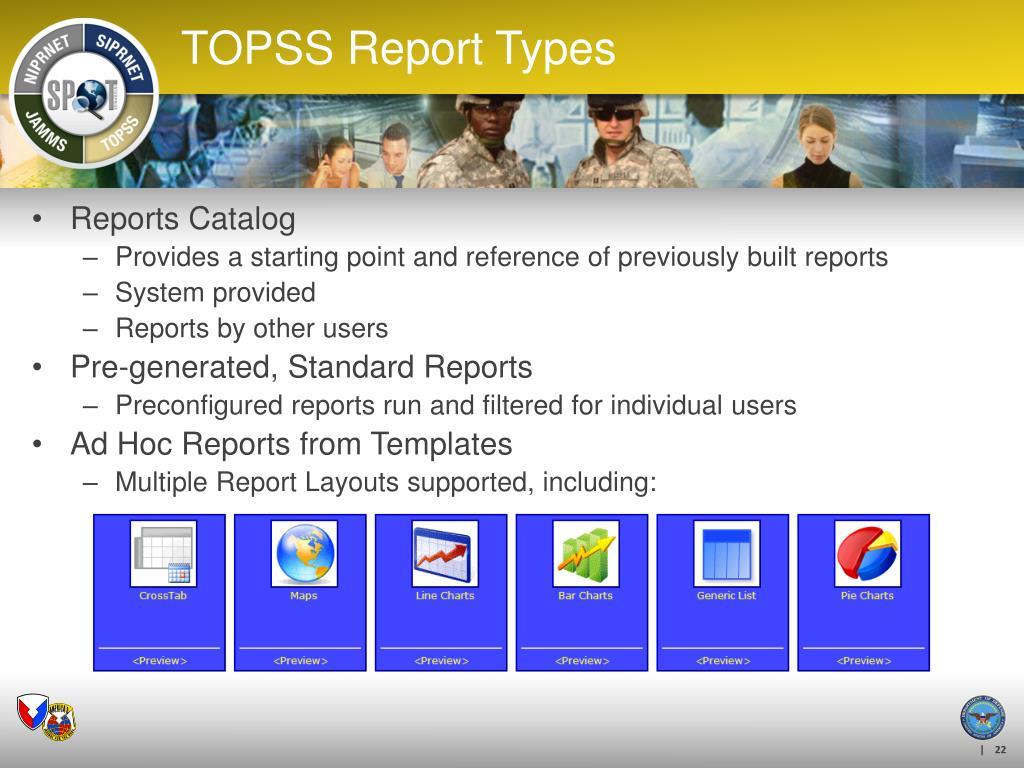 Reports Catalog