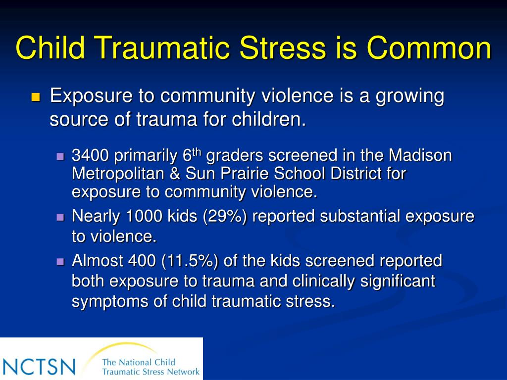 the effects of national stress situations on children Effects of maltreatment (national institute of mental health  all children need stimulation and nurturance for healthy development.