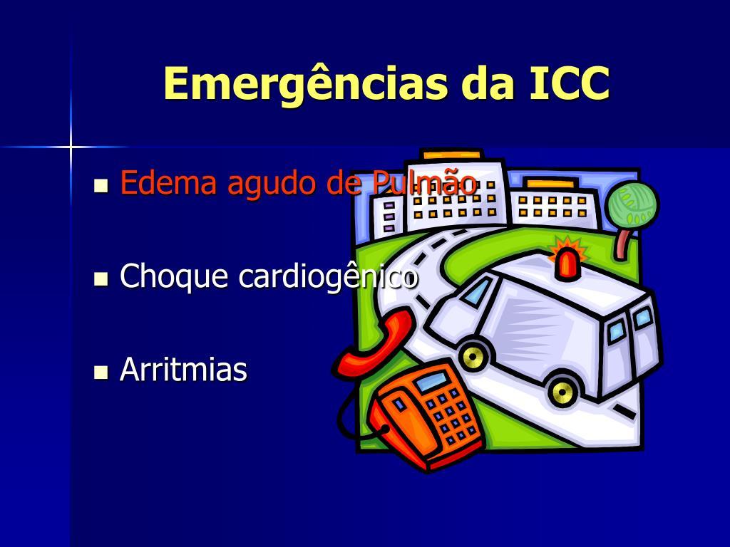Emergências da ICC