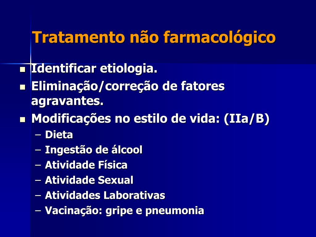 Tratamento não farmacológico
