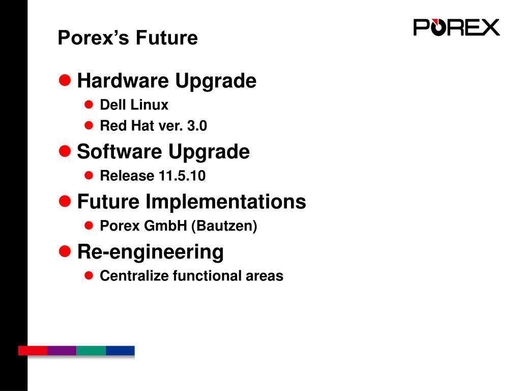 Porex's Future