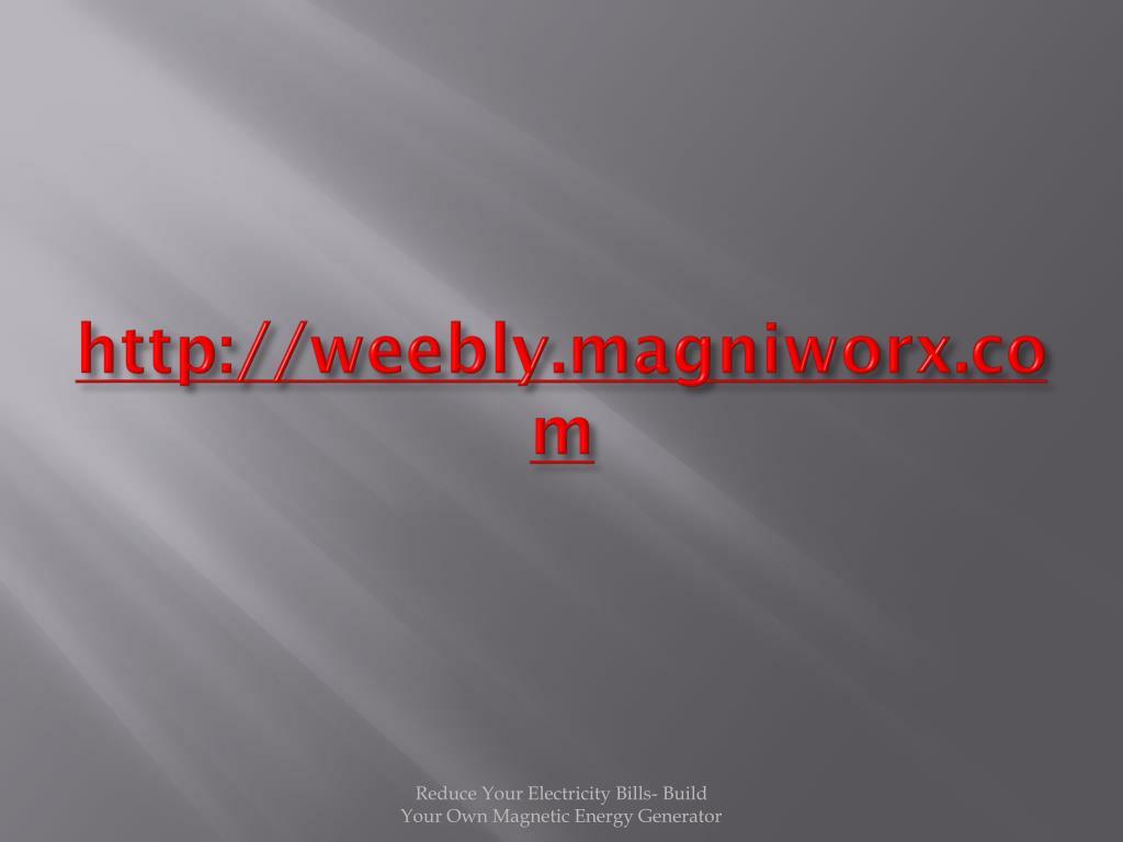 http://weebly.magniworx.com