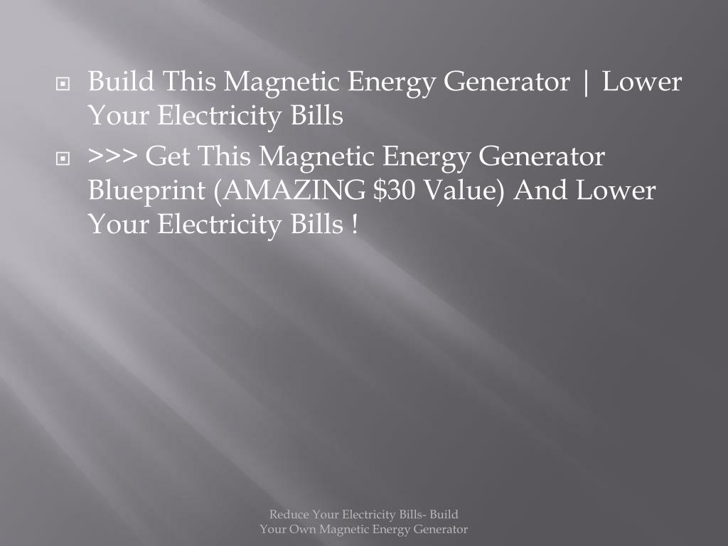 Build This Magnetic Energy Generator | Lower Your Electricity Bills