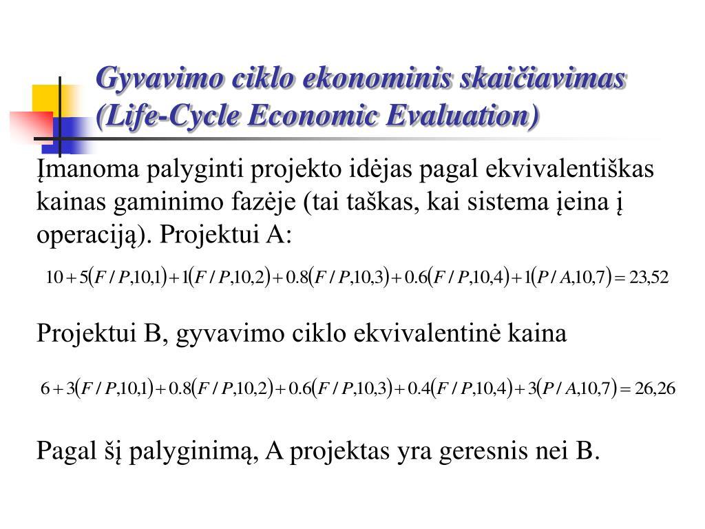 Gyvavimo ciklo ekonominis skai