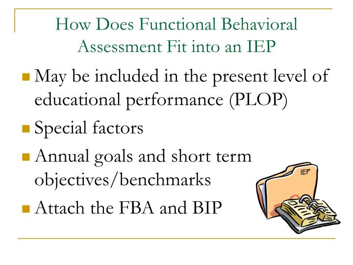 Ppt - Functional Behavioral Assessment And Behavior Intervention