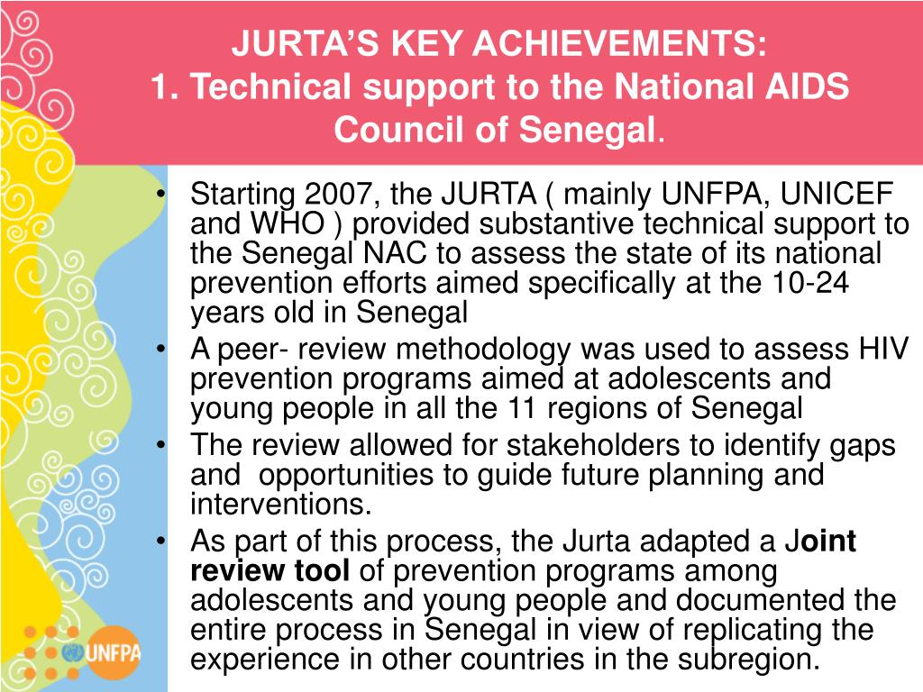 JURTA'S KEY ACHIEVEMENTS: