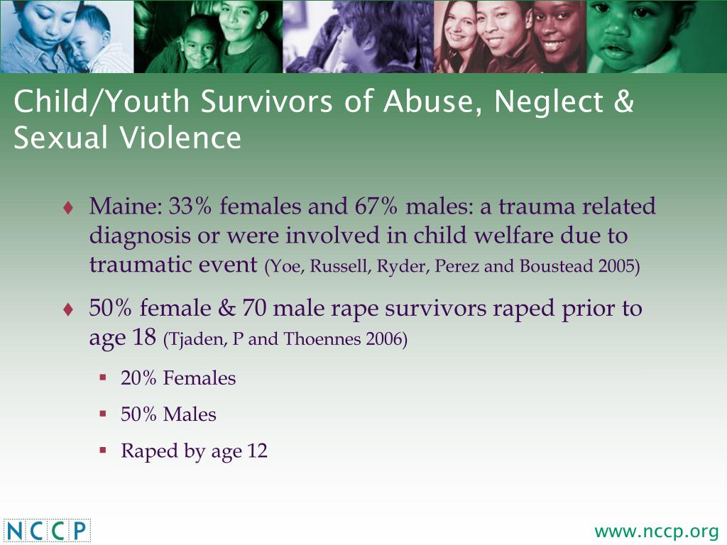 Child/Youth Survivors of Abuse, Neglect & Sexual Violence