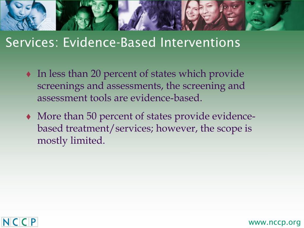 Services: Evidence-Based Interventions