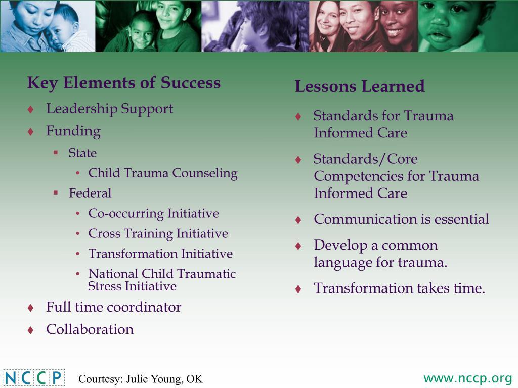 Key Elements of Success