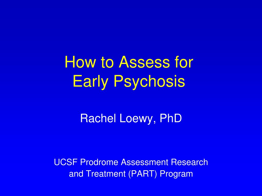 How to Assess for