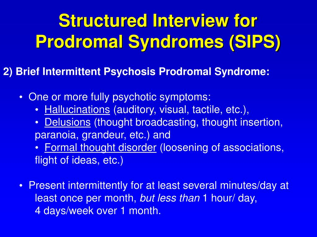 Structured Interview for
