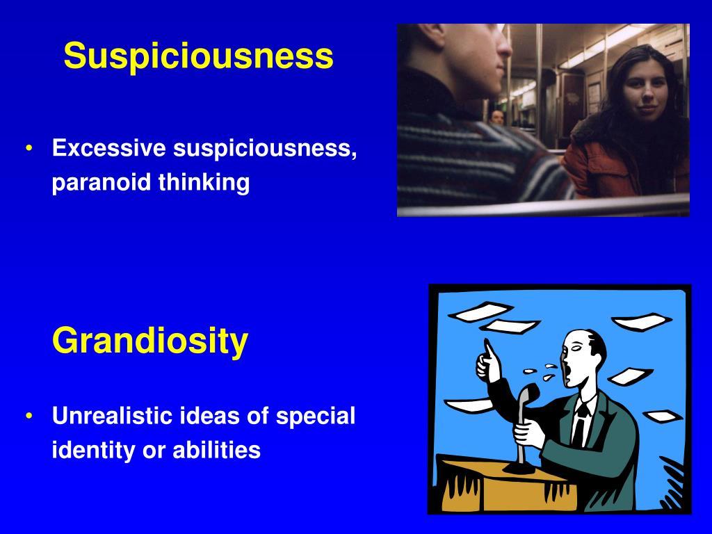 Suspiciousness