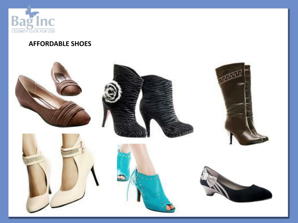 AFFORDABLE SHOES