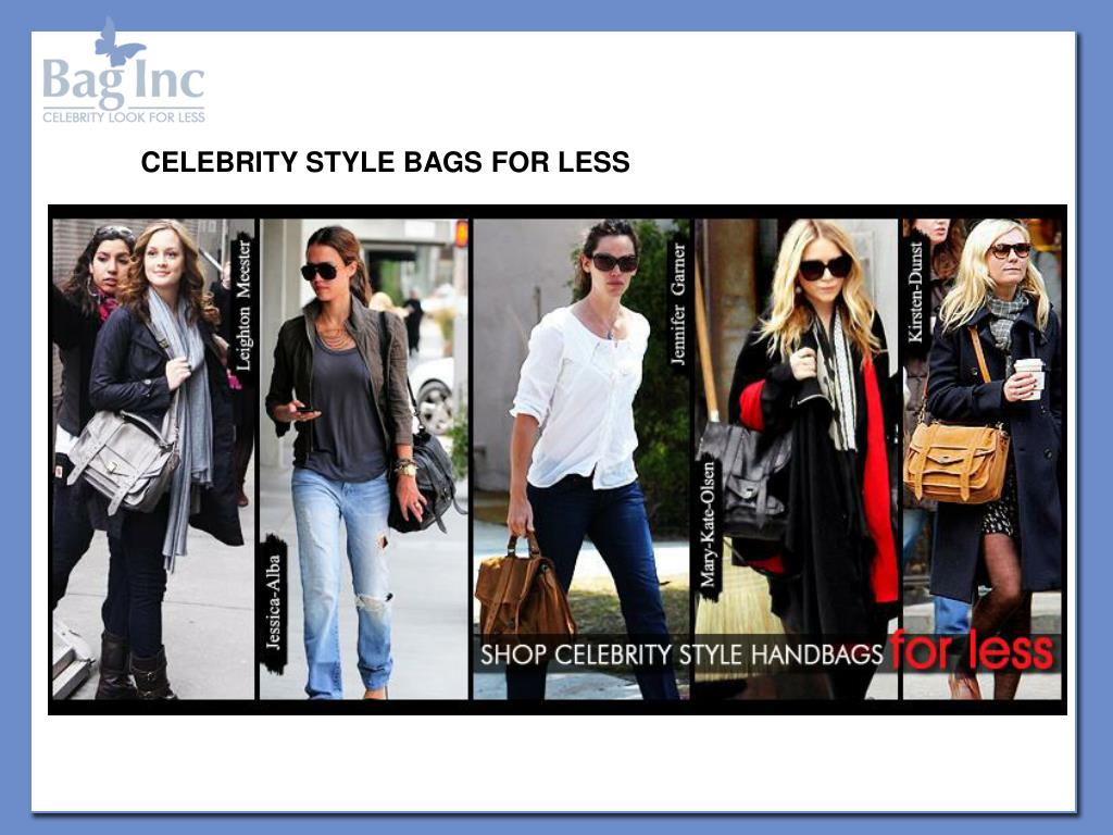 CELEBRITY STYLE BAGS FOR LESS