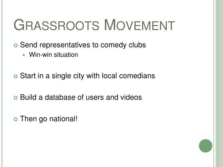 Grassroots Movement