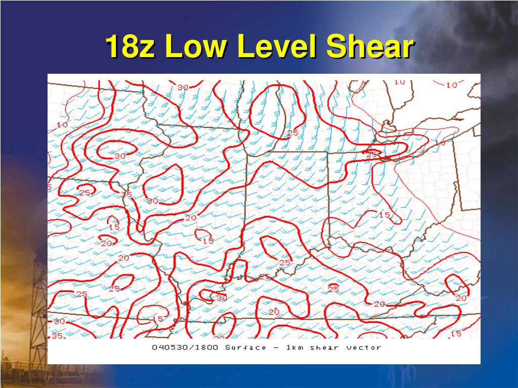 18z Low Level Shear