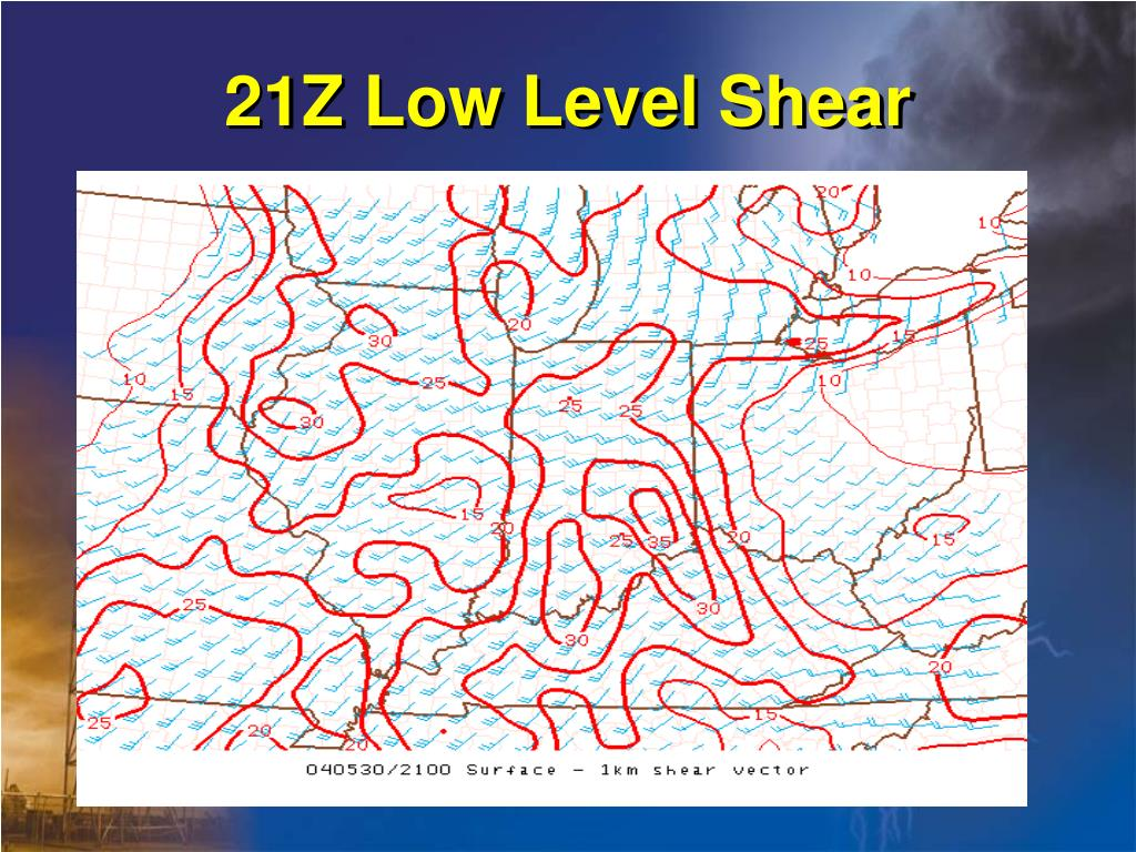 21Z Low Level Shear