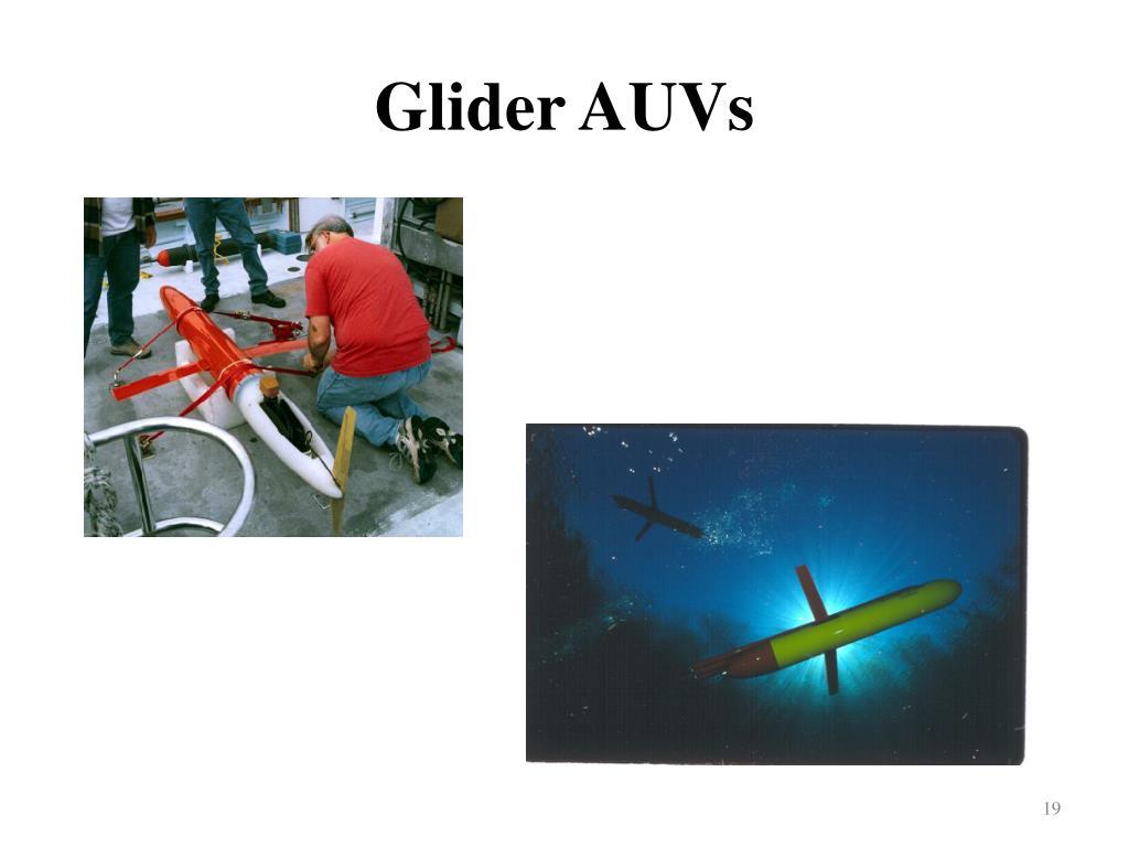 Glider AUVs