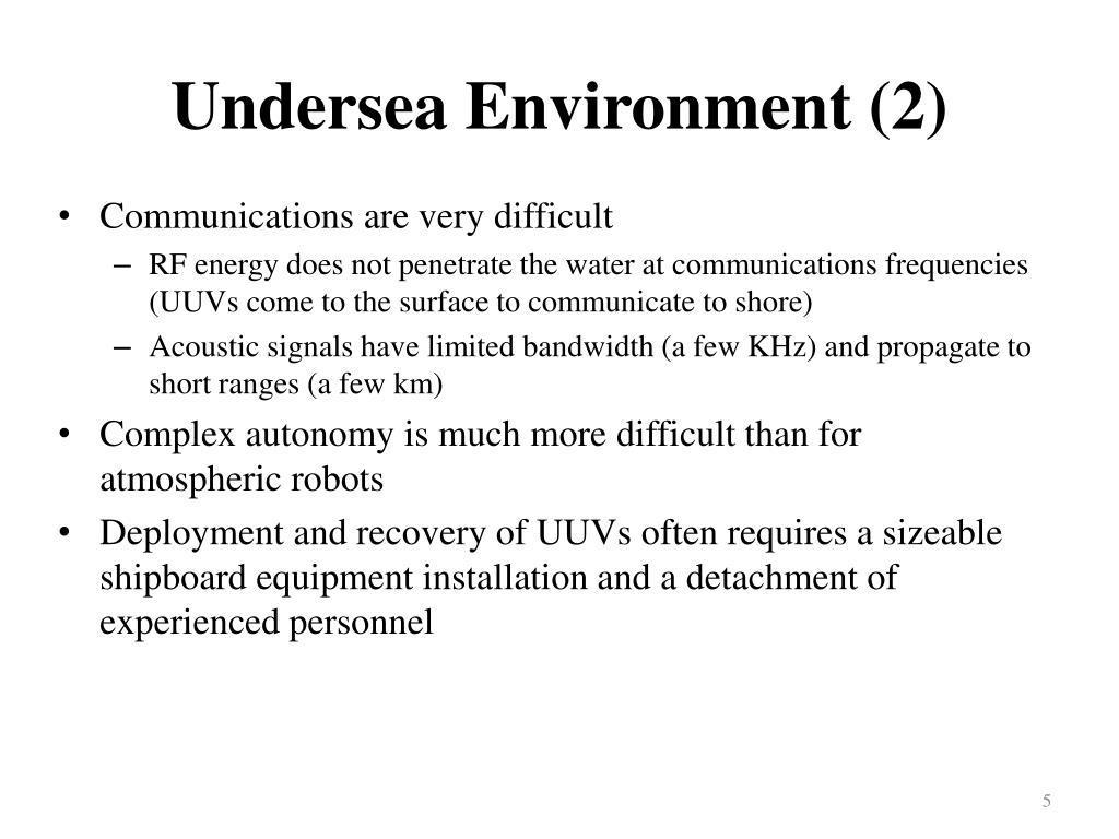 Undersea Environment (2)